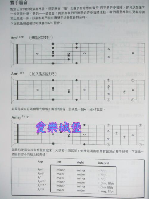电吉他谱~摇滚吉他秘诀~附演奏示范~经典技巧~国际