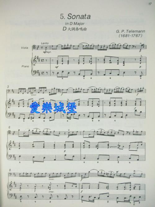 sonata in g minor g小调奏鸣曲-h.