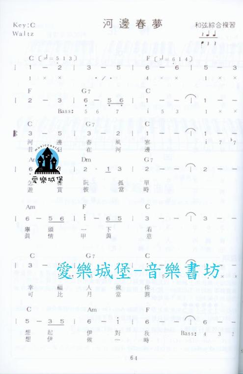化羽简谱网 电子琴谱 生日快乐电子琴五线谱