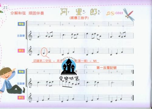 小星星的乐谱 竖笛